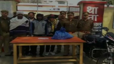 Uttar Pradesh: Four Cow Smugglers Arrested From Muzaffarnagar, Weapons, Cow Meat and Skin Recovered