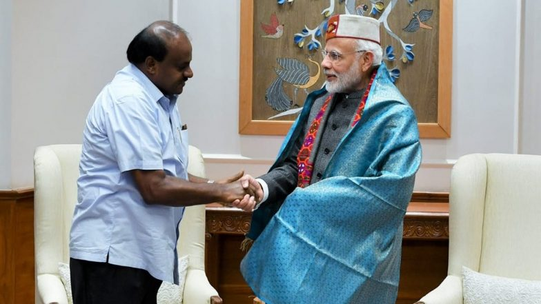 PM Narendra Modi Attacks HD Kumaraswamy, Asks 'Whether Will He Retire From Politics If BJP Forms Govt at Centre in 2019!'