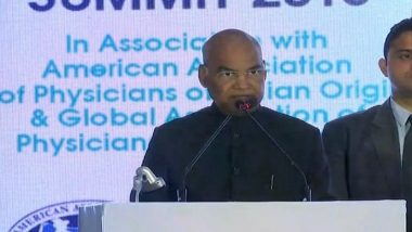 President Ram Nath Kovind Inaugurates 12th Global Healthcare Summit in Mumbai; Says, 'Health for All' Must be Integral to Our Policies