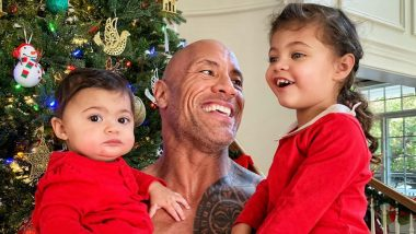 Dwayne Johnson's Emotional Post for Daughters Jasmine and Tiana on Christmas 2018 Might Leave You Teary-Eyed (View Pic)