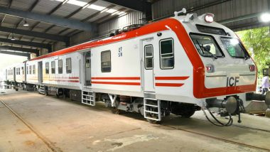 Railways Launches New Electrical Multiple Unit Train with 130 Kmph Speed
