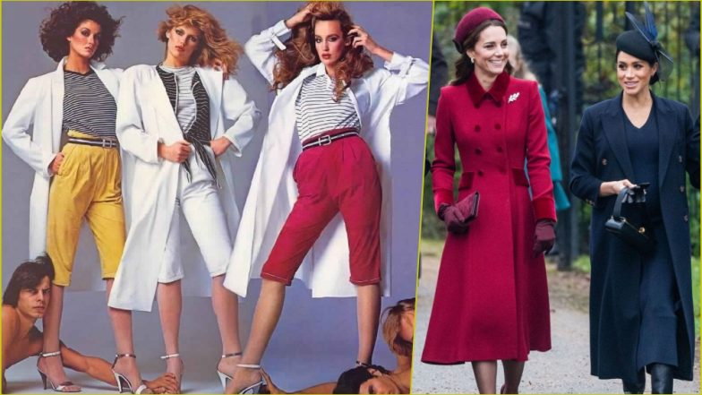 Fashion Searches On Google In 2018 1980s Fashion To Meghan Markle