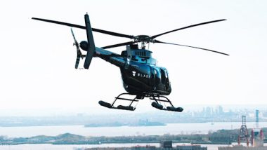 'Uber of Helicopters' Fly Blade to Start Service in India from March 2019, Now Hail a Chopper From Mumbai to Shirdi and Pune