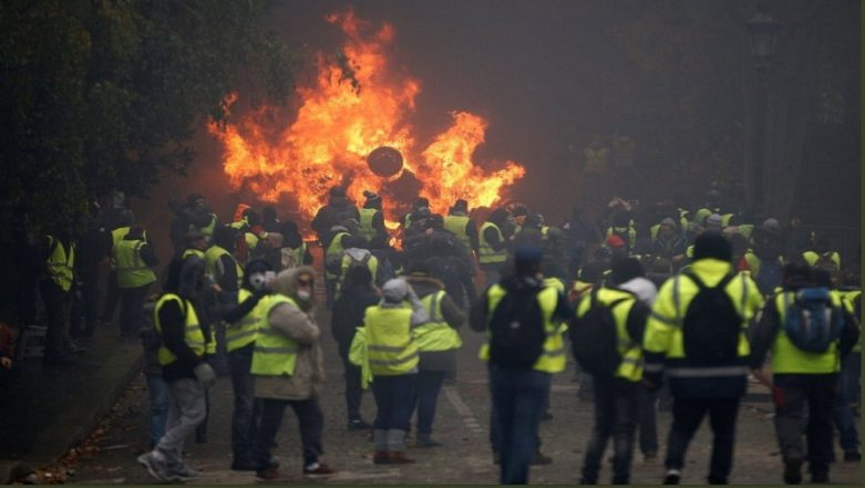 France Protests: What Are The 'Yellow Jacket' Protesters Demanding From President Macron?