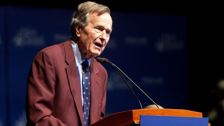 George H W Bush Passes Away: Memorable Speeches of Former US President Highlighting His Accomplishments, Watch Videos