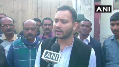 Opposition Unity Important for Protecting Constitution, Institutions: RJD Leader Tejashwi Yadav