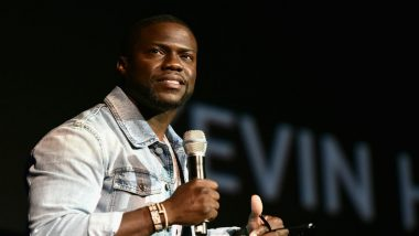 Kevin Hart Happy to Go Back to Work After Car Crash