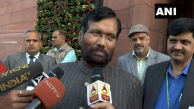 Coronavirus Lockdown in India: Government Keeping Vigil to Ensure Essential Goods Availability, Says Ram Vilas Paswan