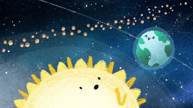 Google Doodle Marks Geminid Meteor Shower for 2018