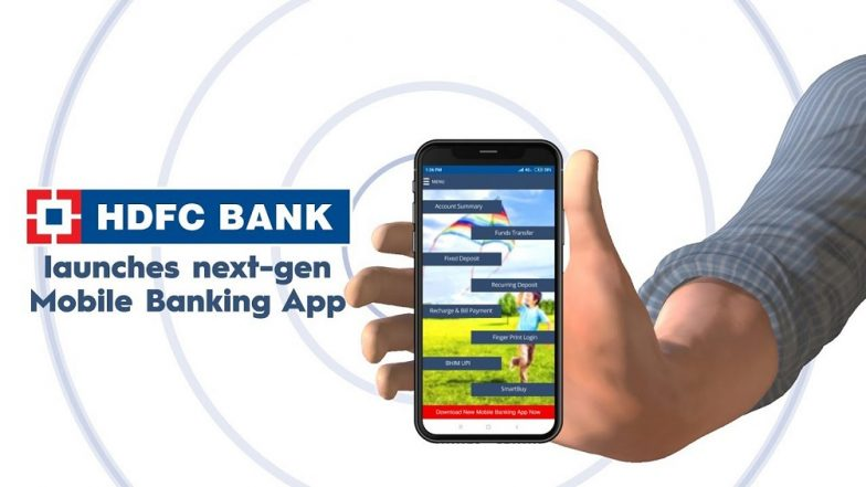 how to use hdfc mobile banking