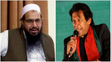 Video Shows Pakistan PM Imran Khan Vowing to 'Protect' Hafiz Saeed and His Party