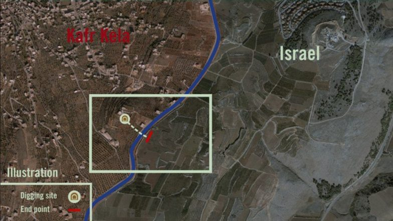 Israel on the border with Lebanon began operation destruction