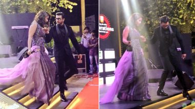 Hina Khan Cannot Stop Gushing About Ranveer Singh's 'Gentleman' Gesture at an Award Show! (View Pics)
