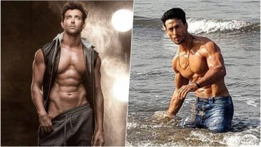 Dabboo Ratnani 2019 New Year Calendar: Handsome Hunks Hrithik Roshan & Tiger Shroff Flaunt Their Hot Bods in BTS Video & Pictures