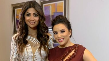 Sexy Shilpa Shetty Kundra Meets 'Desperate Housewives' Star Eva Longoria In Dubai For A 'Hot' Cause! Deets Inside