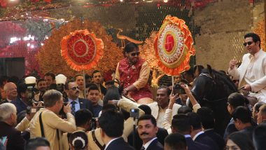 Anant And Akash Ambani Riding Horses At Isha And Anand Piramal's Wedding Ceremony Oozes Royalty (View Pics of Ambani Brothers From Antilia)