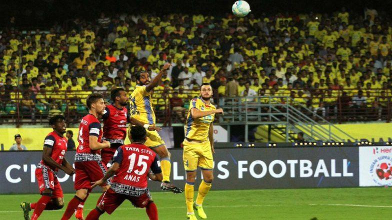 ISL 2018-19 Match Highlights: Jamshedpur Hold Profligate Kerala Blasters to 1-1 Draw