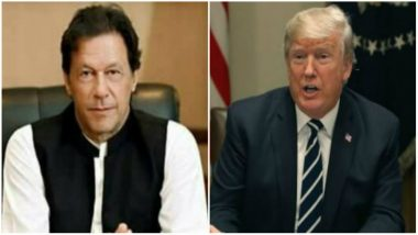 Imran Khan to Hold Maiden Meeting with US President Donald Trump On July 22, Says Pakistan Foreign Office