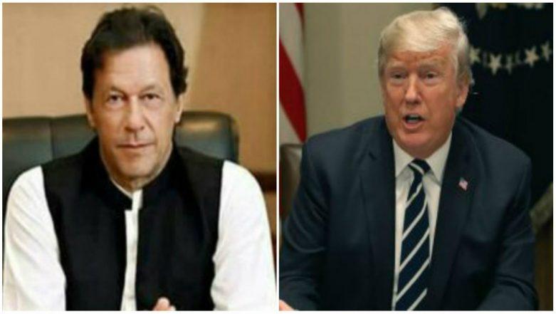 Donald Trump Writes to Imran Khan; Seeks Help in Bringing Taliban to Negotiating Table