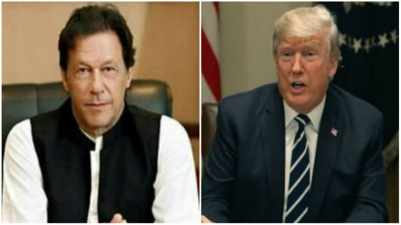 Donald Trump Writes to Imran Khan; Seeks Help in Bringing Taliban to Negotiating Table