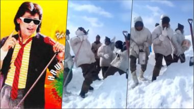 Video of Indian Army Soldiers Dancing on Pakistani Song 'Hawa Hawa' Sung by Hassan Jahangir in Siachen Goes Viral