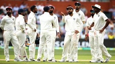 AUS 115/5 in 56.4 Overs | Live Cricket Score India vs Australia 1st Test 2018 Day 5: Ishant Sharma Removes Travis Head Early