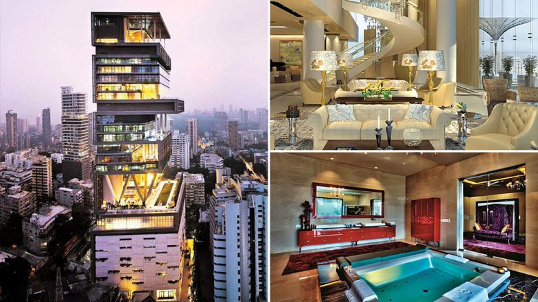 Isha Ambani- Anand Piramal Wedding Takes Place at Antilia, Look At Pictures of Ambani's Most Expensive Residence in Mumbai
