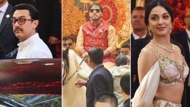 Isha Ambani-Anand Piramal Wedding LIVE Updates: Aamir Khan, Kiara Advani, Manish Malhotra Arrive at Ambani Residence in Mumbai