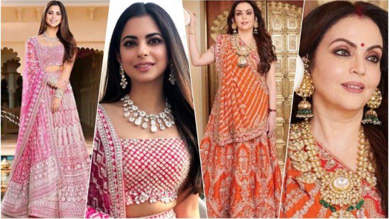 Isha Ambani Anand Piramal Wedding Bride To Be Amp Her