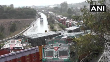 Jammu-Srinagar National Highway Shut for Second Day Due to Multiple Landslides