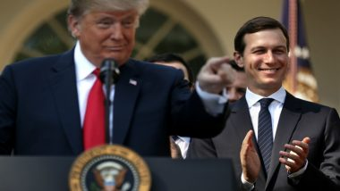 Jared Kushner's Peace Plan for Israel-Palestine Does Not Include Two-State Solution