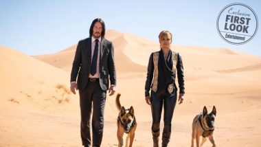 John Wick 3: Parabellum First Look: Keanu Reeves Teams Up With Halle Berry And Gets Two Dogs As Sidekicks - View Pics