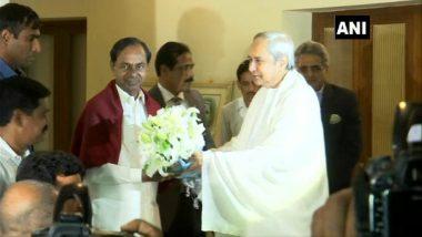 K Chandrashekar Rao, Naveen Patnaik for Unification of Regional Parties to Counter BJP, Congress