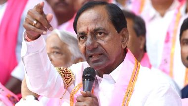 TSRTC Strike: Abetment to Suicide Complaint Made Against Telangana CM K Chandrashekar Rao in Srinivas Reddy Case