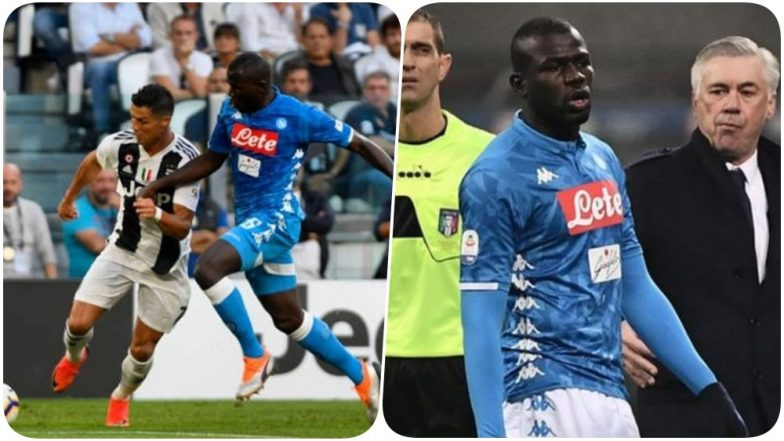 Cristiano Ronaldo Stands by Kalidou Koulibaly After Napoli Defender Was Abused Racially by Inter-Milan Fans During Serie A 2018