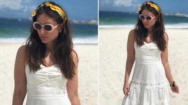 Kareena Kapoor Ditches Her Bikini, Opts for the Cutest Beach Dress for Her South African Vacay