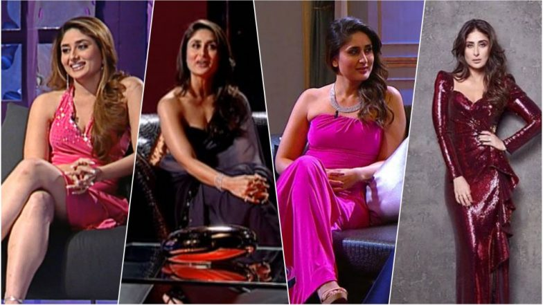 Kareena Kapoor Style Transformation on Koffee With Karan: See in Pictures Bebo's Evolution Over the Years on the Famous Couch
