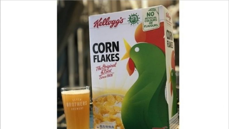 Kellogg's Launches Beer Made with Rejected Cornflakes to Reduce Food Wastage