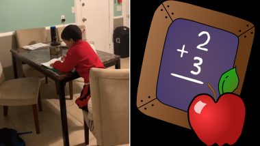 Mom Catches 6-Year-Old Using Amazon Alexa to Finish His Maths Homework, Funny Video Goes Viral