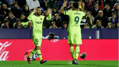 Barcelona vs Levante, La Liga 2018–19 Match Highlights: Lionel Messi Leads Barcelona to 5-0 Win Over Levante