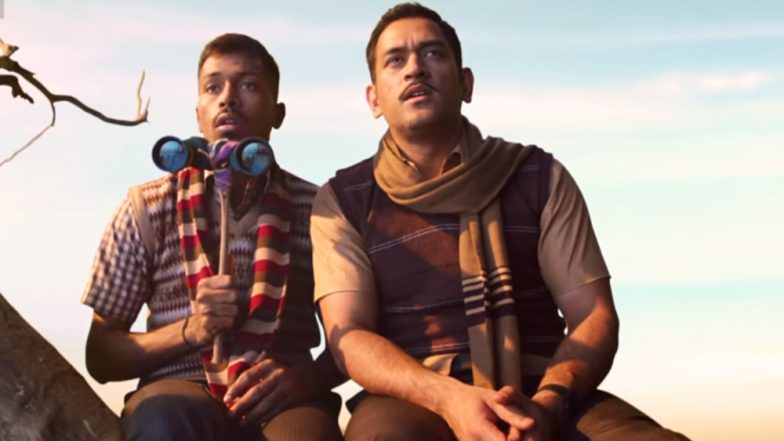 MS Dhoni and Hardik Pandya in New Star TV Network Ad Will Win Your Hearts: Watch Video