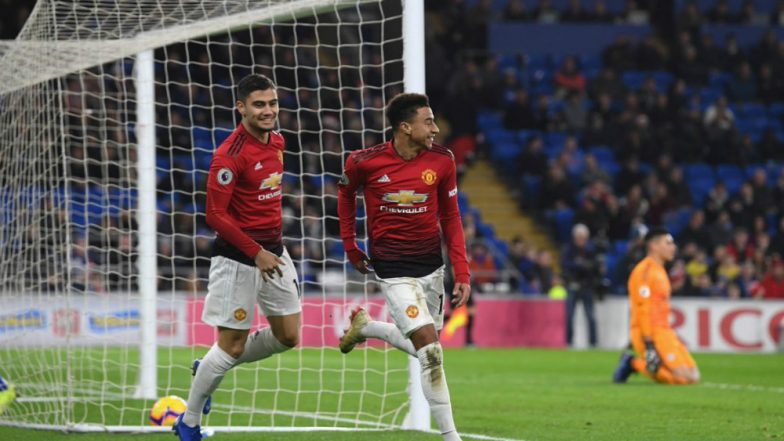 Manchester United vs Cardiff City, EPL 2018-19 Match Highlights: Man Utd Beat Cardiff City 5-1 in First Game Under Ole Gunnar Solskjaer