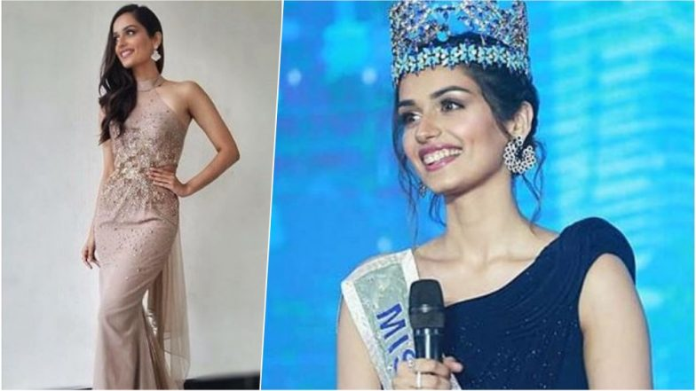 Miss World 2018: Manushi Chhillar Looks Splendid in Beige Backless Gown as She Gears Up for the Finale Today in Sanya, China – See Pic
