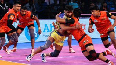 Telugu Titans vs Bengaluru Bulls, PKL 2018-19 Match Highlights: Bengaluru Defeats Titans 37-24