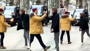 Viral 'Middle-Finger Fight' of Two Guys From NYC Was Staged, Watch Funny Video