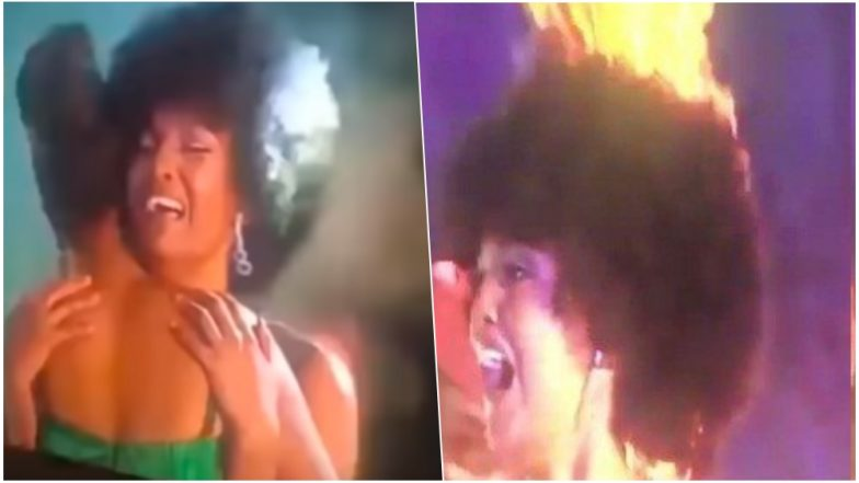 Miss Africa 2018 Dorcas Kasinde's Hair Catches Fire on Stage! Scary Winning Moment Goes Viral