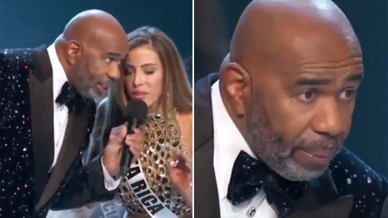 Miss Costa Rica Natalia Carvajal Gives a Befitting Advice to Host Steve Harvey During Miss Universe 2018 Finale
