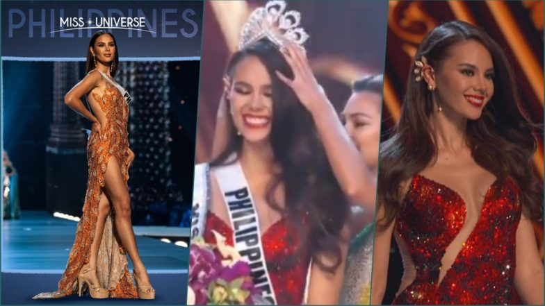 Miss Universe 2018 Catriona Gray Winning Moment Video: Demi-Leigh Nel-Peters Crowns Miss Philippines as Her Successor (See Pics)
