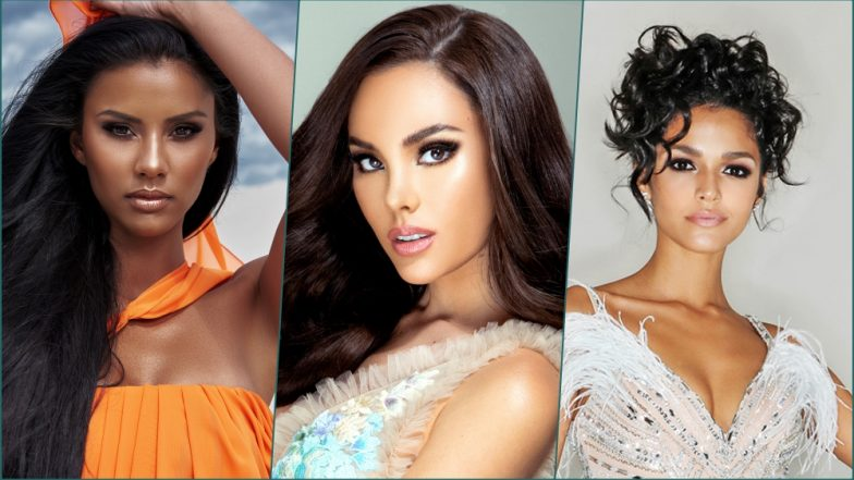 Miss Universe 2018 Top 5 Contestants: Miss Philippines Catriona Gray, Miss Puerto Rico Kiara Ortega & Miss South Africa Tamaryn Green in Final Q&A Round