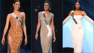 Miss Universe 2018 Top 10 List: Miss Philippines Catriona Gray Enters in Style, Does The 'Slow Mo Twirl' Again (Watch Video)